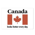 Canada Looks Better Every Day Postcards (Package o