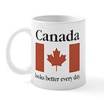 Canada Looks Better Every Day Mug