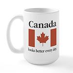 Canada Looks Better Every Day Large Mug