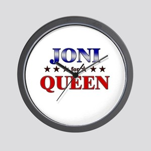 JONI for queen Wall Clock