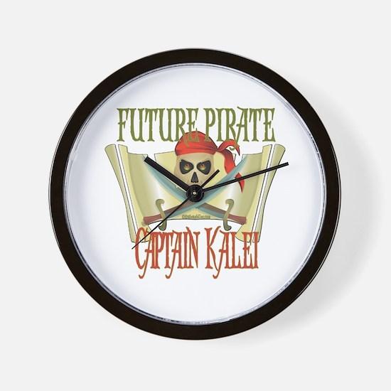 Captain Kalei Wall Clock