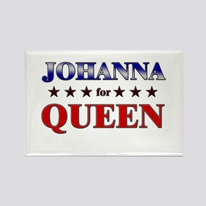 JOHANNA for queen Rectangle Magnet