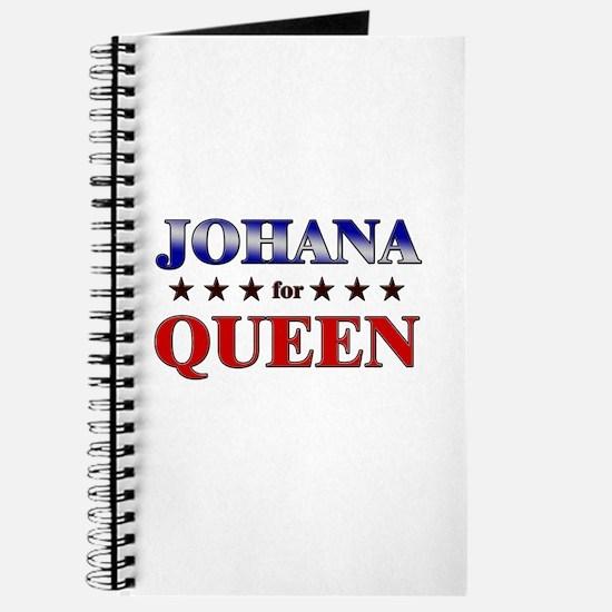 JOHANA for queen Journal