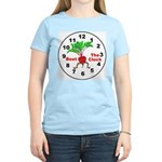 Beet The Clock Women's Pink T-Shirt