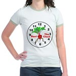 Beet The Clock Jr. Ringer T-Shirt