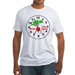 Beet The Clock Fitted T-Shirt