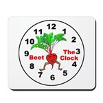 Beet The Clock Mousepad