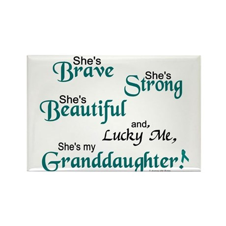 Lucky Me 1 (Granddaughter OC) Rectangle Magnet (10