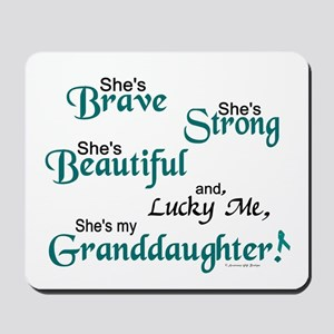 Lucky Me 1 (Granddaughter OC) Mousepad