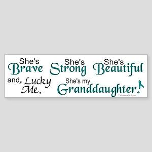 Lucky Me 1 (Granddaughter OC) Bumper Sticker
