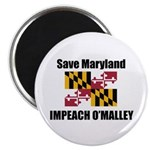"Impeach O'Malley 2.25"" Magnet (10 pack)"