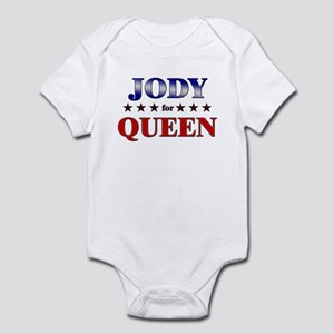 JODY for queen Infant Bodysuit