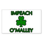 Impeach O'Malley Rectangle Sticker