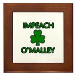 Impeach O'Malley Framed Tile