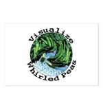 Visualize Whirled Peas Postcards (Package of 8)