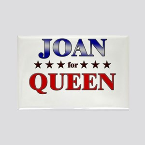 JOAN for queen Rectangle Magnet