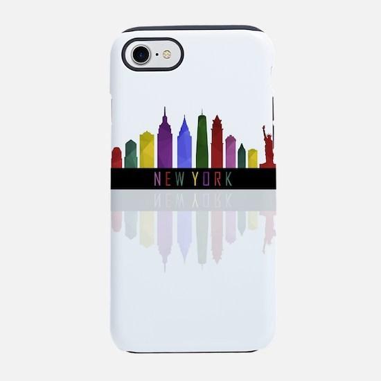 New York skyline iPhone 8/7 Tough Case