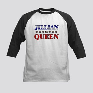 JILLIAN for queen Kids Baseball Jersey