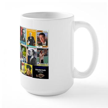 Scientist Cards Mug (Large)