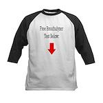 Free Breathalyzer Test Below Kids Baseball Jersey