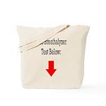 Free Breathalyzer Test Below Tote Bag