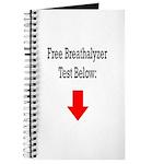 Free Breathalyzer Test Below Journal