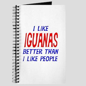 I Like Iguanas Journal