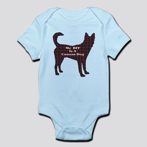 BFF Canaan Dog Infant Bodysuit