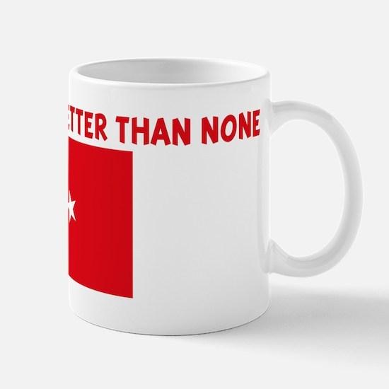 50 PERCENT TURKISH IS BETTER  Mug