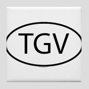 TGV Tile Coaster