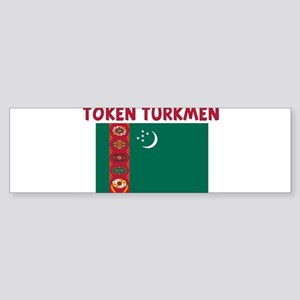 TOKEN TURKMEN Bumper Sticker