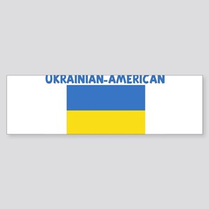 UKRAINIAN-AMERICAN Bumper Sticker