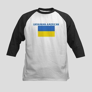 UKRAINIAN-AMERICAN Kids Baseball Jersey