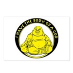 I Have The Body Of A God Postcards (Package of 8)