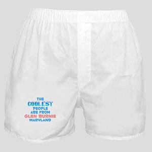 Coolest: Glen Burnie, MD Boxer Shorts