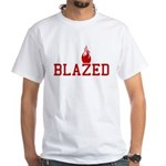 Blazed White T-Shirt