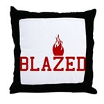 Blazed Throw Pillow