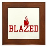 Blazed Framed Tile