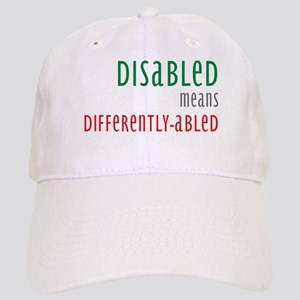 Disabled = Differently-abled Cap
