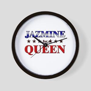 JAZMINE for queen Wall Clock