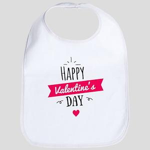 Happy Valentine's Day Baby Bib
