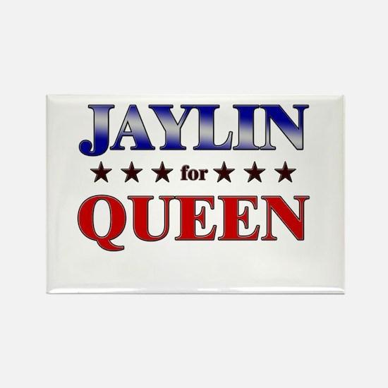 JAYLIN for queen Rectangle Magnet