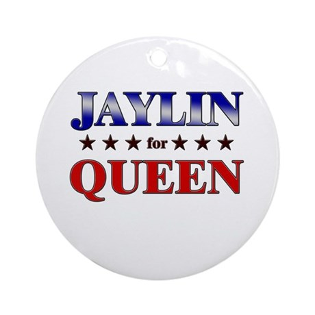 JAYLIN for queen Ornament (Round)
