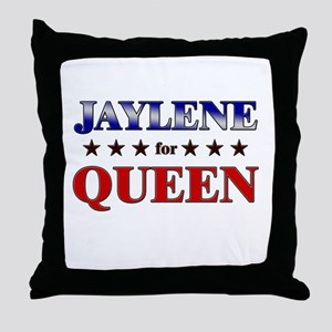 JAYLENE for queen Throw Pillow