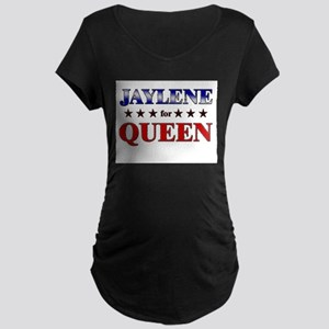 JAYLENE for queen Maternity Dark T-Shirt