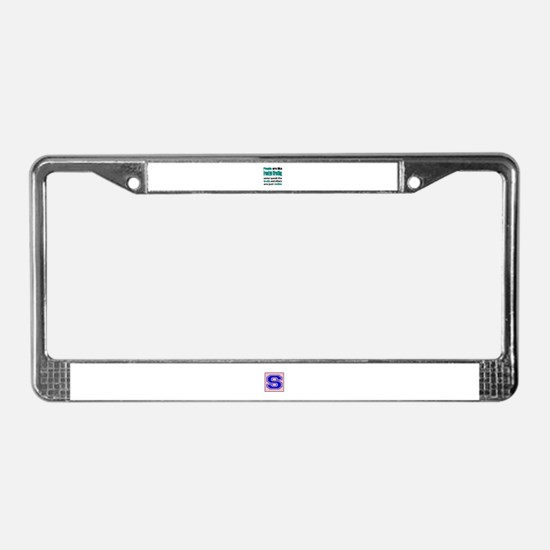 People are like Freestyle Wres License Plate Frame