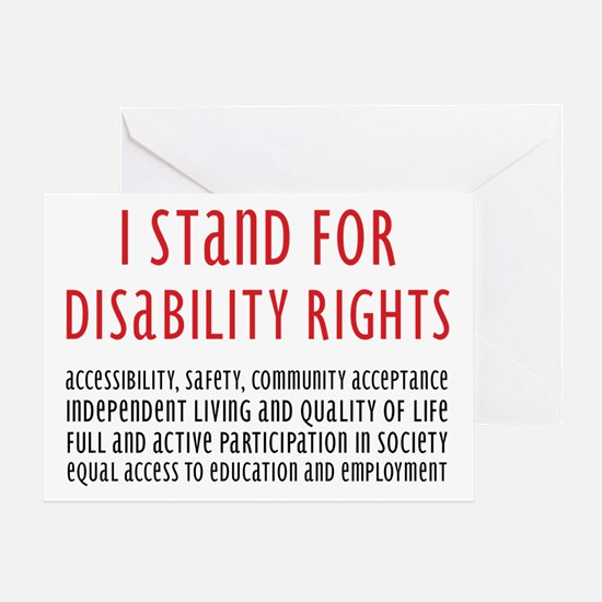 Disability Rights Greeting Card