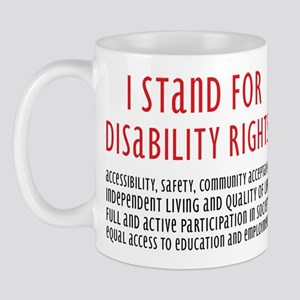 Disability Rights Mug