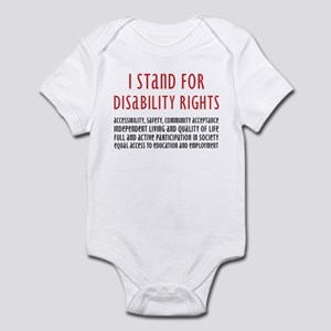 Disability Rights Infant Bodysuit