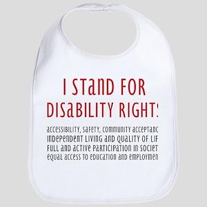 Disability Rights Bib